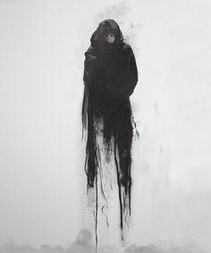 tell me, do you fear death? - tell me, do you fear death? – tell me, do you fear death? Dark Fantasy Art, Fantasy Kunst, Dark Art, Arte Horror, Horror Art, Arte Tim Burton, Art Sinistre, Art Noir, Arte Obscura