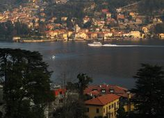 View toward Torno, Lake of Como, Italy. Photo by Susan Pogany.