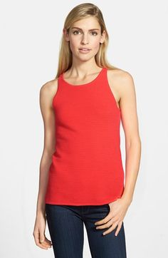 Sam Edelman 'Ottoman' Ribbed Tank available at #Nordstrom