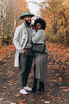 Date Night Dresses, Night Outfits, Casual Outfits, Autumn Winter Fashion, Autumn Style, Fall Fashion, Mens Fashion, Cute Black Couples, Gq Mens Style