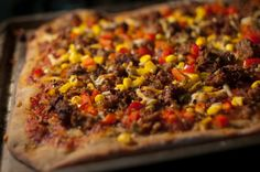 Can't wait to try this! Daniel Fast Fiesta Pizza
