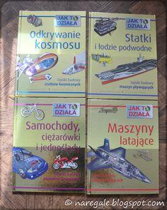 """""""Ja bym chciał nowe książki o maszynach i wynalazkach"""" , rzekło dziecko.   """"Uhm"""" , rzekłam ja i - mając już w domu milion książek o samolota..."""