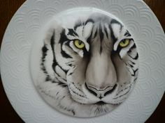 Handmade porcelain painting