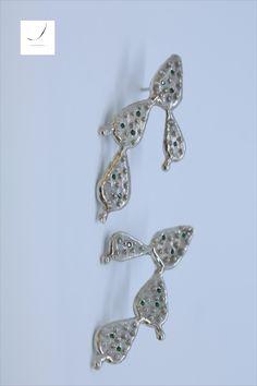 Cactus earrings/silver