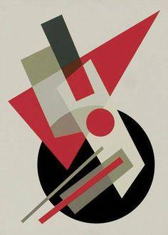 Nadezhda Petrovna Khodasevich-Leger Abstract Geometric Art, Geometric Designs, Geometric Shapes, Bauhaus Art, Design Basics, Composition Design, Design Art, Contemporary Art, Russian Constructivism