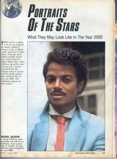 Michael Jackson at 40 as projected by Ebony in the 70's