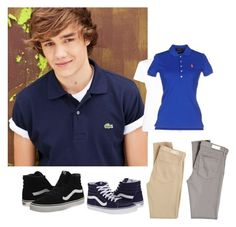 """Liam"" by lord-of-swagger on Polyvore featuring Payne, Max 'n Chester, Polo Ralph Lauren, AG Adriano Goldschmied and Vans"