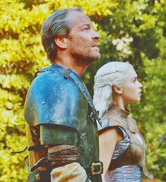 Image shared by Find images and videos about game of thrones, jorah mormont and deanerys targaryen on We Heart It - the app to get lost in what you love. Dany's Dragons, Game Of Thrones Dragons, Got Game Of Thrones, Mother Of Dragons, Deanerys Targaryen, Ser Jorah Mormont, Iain Glen, Valar Morghulis, Valar Dohaeris