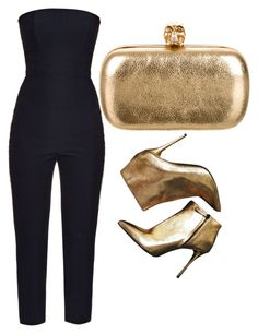 """""""Noite"""" by canarria on Polyvore featuring Alexander McQueen"""