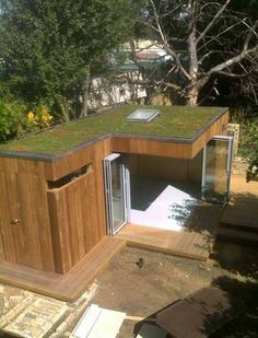 A lovely garden office designed and built in South London by The Longhirst Project (whose website has some other marvellous shedlike struc...