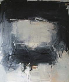 Tom Lieber, Black/White Shift, 2010 | Oil on canvas | 72 x 60 inches