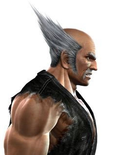 View an image titled 'Heihachi Face Art' in our Tekken Dark Resurrection art gallery featuring official character designs, concept art, and promo pictures. Concept Art Gallery, Game Concept Art, Character Art, Character Design, Tekken 7, Bandai Namco Entertainment, Face Characters, Iron Fist, Image Title