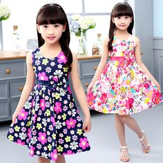 Cheap dresses for girls, Buy Quality summer dresses for girls directly from China bohemian kids clothes Suppliers: Summer Dresses For Girls A-Line Print Floral Girls Dresses O-Neck Bohemian Kids Clothes For Girls Fashion Baby Princess Dress Summer Dress Outfits, Girls Party Dress, Kids Outfits, Girls Dresses, Baby Princess Dress, Baby Dress, Bohemian Kids, Kids Clothing Rack, Clothing Stores