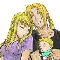 Elric Family by    梨イチ