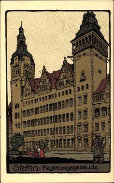 Stettin Regierungsgebäude