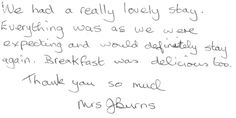 Guest feedback from a family of seven who stayed with us whilst attending a wedding at the Sea Hotel in #SouthShields.