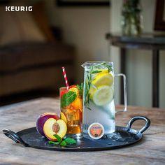 Spend a day enjoyingSnapplePeach Iced Tea, Each glass will be as fresh as the first, straight from your Keurig brewer.#icedtea #peachicedtea