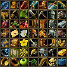 Forsaker Icons by *quellion on deviantART