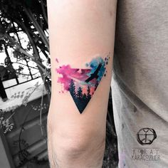 Triangle Forest  by koray_karagozler