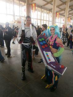 #cosplay #sona #arcade #salonmanga #jerez #league #lengends #lucian