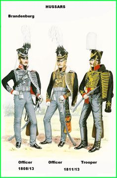 Prussian Brandenburg Hussars 1808-13
