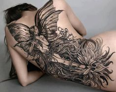 awesome fairy tattoo