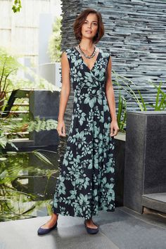 Ann Harvey Floral Printed Maxi Dress