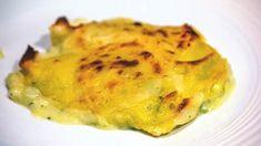 Crespelle al forno con carciofi, besciamella e formaggio Montasio ricetta, primo