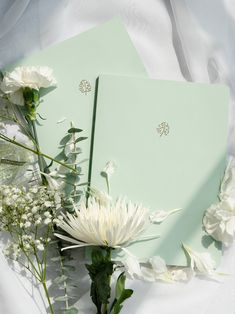 Lined Pastel Notebook by Lavendaire - Green