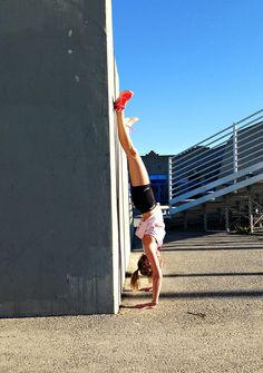 Why You Should Do Handstands on a Regular Basis--I do this! I didn't know it was good for me though!
