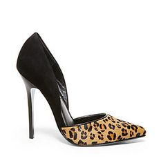 """VARCITYL Pump - Steve Madden, next purchase and I can't wait!!! """" WEAR LEOPARD PRINT WITH EVERYTHING. IT'S THE NEW NEUTRAL."""" Khalym Schell"""