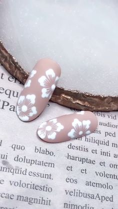Simple nails art design video Tutorials Compilation Part 307 – Nagel Kleuren Nail Art Designs Videos, Diy Nail Designs, Simple Nail Art Designs, Nail Polish Designs, Nails Design, Cute Summer Nail Designs, Cute Summer Nails, Nail Designs Spring, Cute Nails