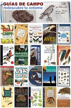 """Guias de campo. Una """"mirilla"""" de la Biblioteca Municipal de Móstoles. http://bibliotecademostoles.wordpress.com/"""