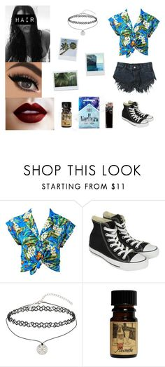"""Hawaiian Print / Female Richie Tozier"" by heavymetalvampirequeen ❤ liked on Polyvore featuring Forever New, Converse, Miss Selfridge, KEEP ME, Giuseppe Zanotti and GAS Jeans"