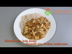 1 pack of Shirataki rice 300 ml roth 80 - 100 g chicken breast soaked dried mushrooms tsp starch with a little water http. Dried Mushrooms, Stuffed Mushrooms, Dukan Diet, Oatmeal, Rice, Chicken, Breakfast, Youtube, Recipes
