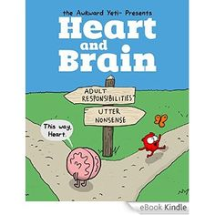 Amazon.com.br eBooks Kindle: Heart and Brain: An Awkward Yeti Collection, The Awkward Yeti, Nick Seluk