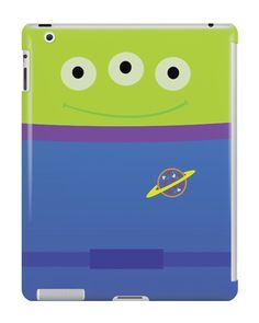 Our Toy Story Alien Costume iPad Case is available online now for just £9.99.    Fan of Toy Story? You'll love our Toy Story Alien Costume iPad case, available for iPad, iPad Mini & iPad Air.    Material: Plastic, Production Method: Printed, Authenticity: Unofficial, Weight: 28g, Thickness: 12mm, Colour Sides: Clear, Compatible With: iPad 2 | iPad 3 | iPad 4 | iPad Air | iPad Mini | iPad Mini 2, Features: Slim fitting one-piece clip-on case that allows full access to all device ports. This i