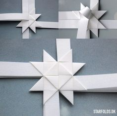 100 st Jerne Strimler ! Danish style of Christmas folding paper !