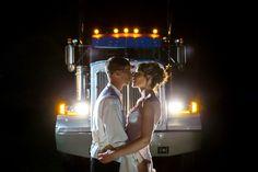 ...trucker wedding!