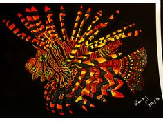 Lionfish Page By Wendy