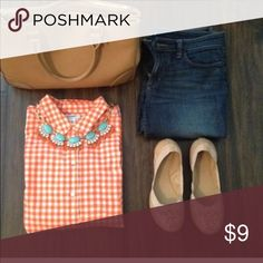 Gingham shirt Reserved! Tops Blouses