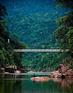 India-Bangladesh Border, Jaflong, Sylhet.