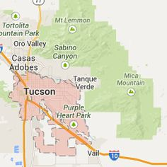 Tucson, AZ, United States - Google Maps