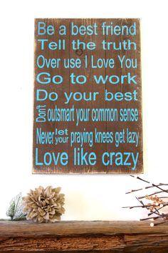 Love Like Crazy Wood Sign Lee Brice Pallet by RusticlyInspired