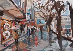 "Pleinair painter on Instagram: "". همدان، دور آرامگاه، جلوی علی بابا ... آذر ۹۹ Gouache on paper…"" Gouache Painting, Paintings, Instagram, Art, Art Background, Paint, Painting Art, Kunst, Performing Arts"