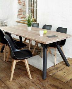 Ruokapöytä alle 700 e Lankku Dining Chairs, Dining Table, Joko, Studio Apartment, Kitchen Dining, House Design, Interior Design, Furniture, Home Decor