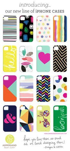 new line of iPhone cases!!!! Ampersand Design Studio