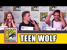 TEEN WOLF Comic Con 2016 Panel - Tyler Posey, Holland Roden, Season 6 - YouTube  Teen Wolf Comic Con 2016 panel with Tyler Posey, Holland Roden, Dylan Sprayberry, Cody Christian, JR Bourne, Ian Bohen & Jeff Davis