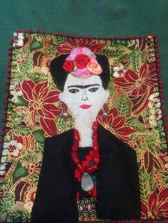 Frida style bag. Totally handmade!