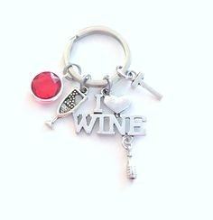 There/'s No Place Like Home Keyring Keychain Red Shoes Charm